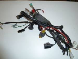 Cableado de instalacion electrica Kymco QUANON 125